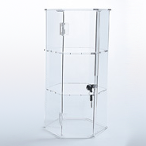 Acrylic locking display case