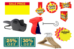 Retail Supplies and Retail Store Supplies for sale in Phoenix Az and Online