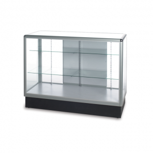 Full Vision Glass Display Cases for sale